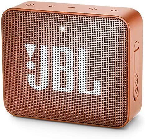 Caixa de Som JBL Go 2, Bluetooth, À Prova D´Água, 3W, Laranja