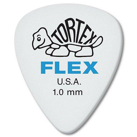 Palheta Dunlop 428-1.0 Tortex Flex Standard 1.00mm - Unidade