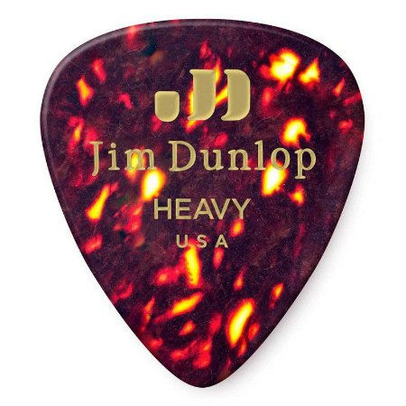 Palheta Dunlop 483 Standard Shell Heavy - 12 Unidades