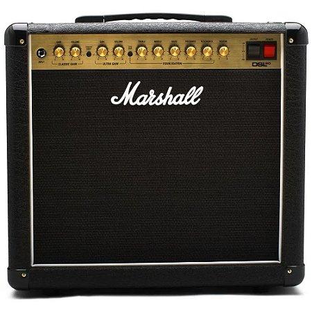 Amplificador Marshall DSL20CR - Combo valvulado para guitarra 20W 2 canais