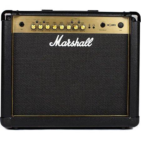 Amplificador Marshall MG30GFX Gold - Combo para Guitarra 4ch 30W com efeitos
