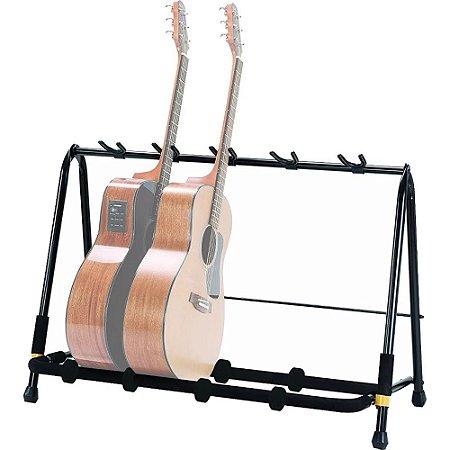 Suporte Hercules GS525B para Guitarra Baixo Violão - Rack p/ 5 instrumentos