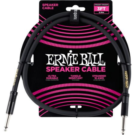 Speaker Cable Ernie Ball 6071 91,4cm reto-reto
