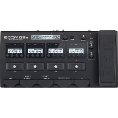 Pedaleira Zoom G5n Multi-Effects Processor - multi efeitos para guitarra