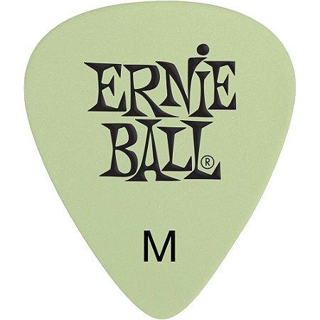 Palheta Ernie Ball 9225 Super Glow Média - Pacote com 12 un