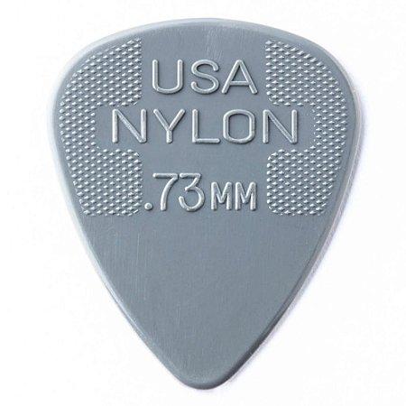 Palheta Dunlop 44R Nylon Standard 0.73mm - Unidade