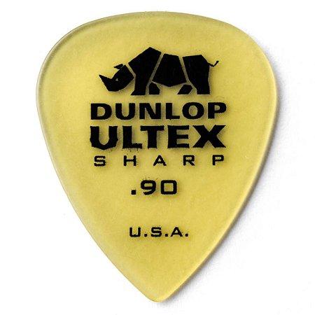 Palheta Dunlop 433 Ultex Sharp 0.90mm - Unidade
