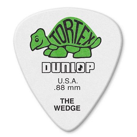 Palheta Dunlop 424-.88 Tortex Wedge 0,88mm - unidade