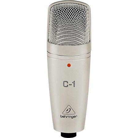 Microfone Condensador Behringer C-1 para Estúdio