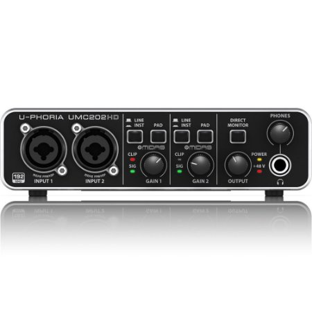 Interface de Audio Behringer U-PHORIA UMC202HD - USB