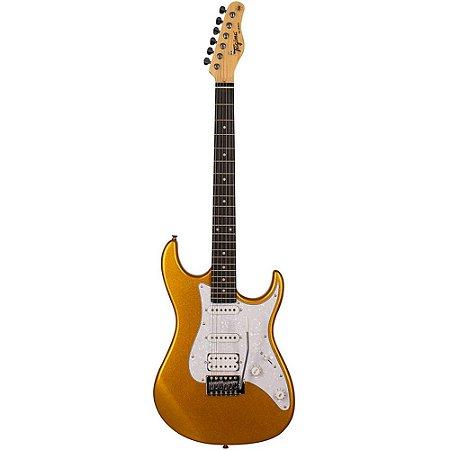 Guitarra Tagima TG-520 Metallic Gold Yellow HSS