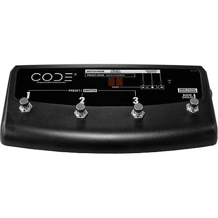 Footswitch programável Marshall PEDL-91009 4 botões - para amplificadores CODE Series