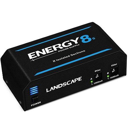 Fonte Landscape Energy E8s 2000mA para 10 pedais