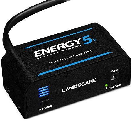 Fonte Landscape Energy E5s 1000mA para 5 pedais 9V DC
