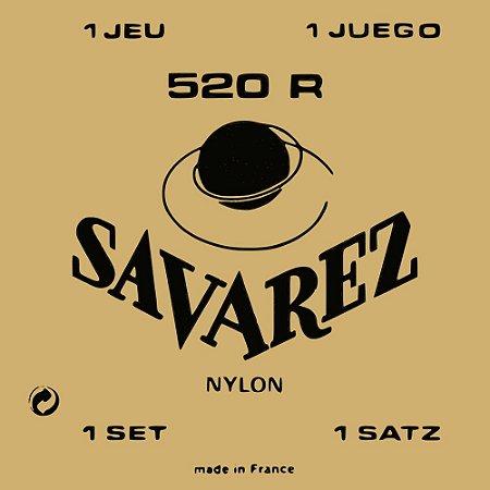 Encordoamento Violão Nylon Savarez 520R Traditional Tensão Normal
