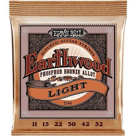 Encordoamento Violão Ernie Ball Earthwood 2148 011-052 - Phosphor Bronze Light