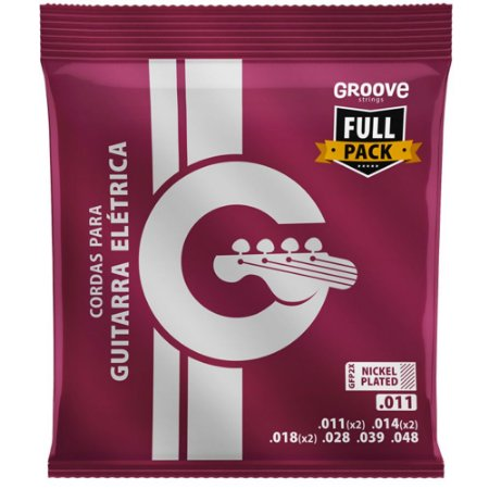 Encordoamento Guitarra Groove Full Package 011-048 GFP3