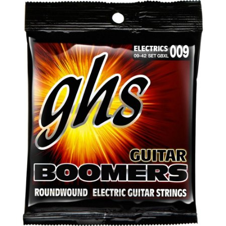 Encordoamento Guitarra GHS 009-042 GBXL Boomers Extra Light