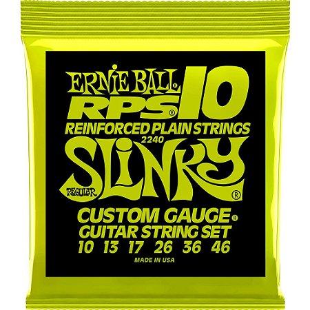 Encordoamento Guitarra Ernie Ball 2240 010-046 RPS Regular Slinky