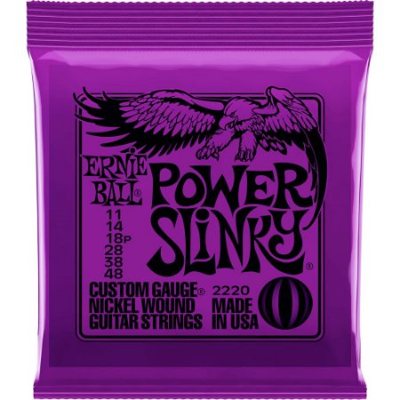 Encordoamento Guitarra Ernie Ball 2220 011-048 Power Slinky