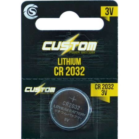 Bateria CR2032 3V Custom Power - unidade - CSPB 2032 - CR