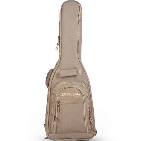 Bag Rockbag Student Line Cross Walker para Guitarra Caqui - RB 20446 K
