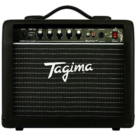 "Amplificador Tagima Black Fox 20 Combo para Guitarra 2ch 1x6,5"" 20w - TBF 20 - BK"
