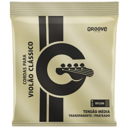 Encordoamento Violão Nylon Groove Tensão Média GS5 M