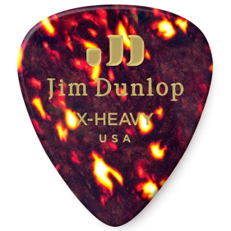 Palheta Dunlop 483 Standard Shell X-Heavy - Unidade