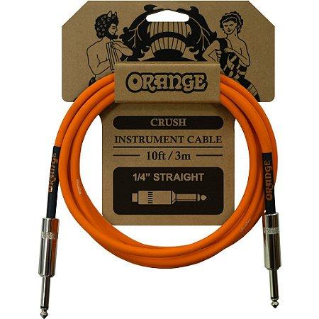Cabo Orange CA034 Crush Instrument Cable 10ft 3,0m Reto - Reto