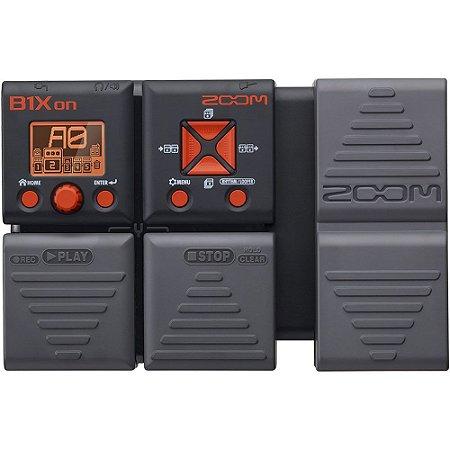 Pedaleira Zoom B1Xon para Baixo - com pedal de expressão