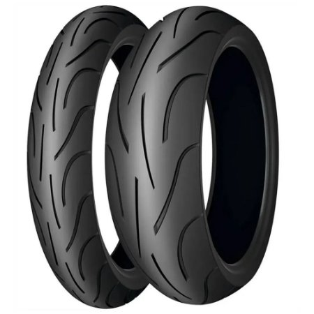 Par de Pneus Michelin Pilot Power - 1200 120/70-17+190/55-17