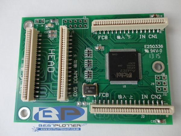 Adaptador de desbloqueio de cabeças DX5