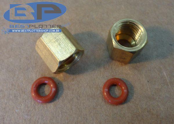 Conector de Cobre - Rosca 8mm