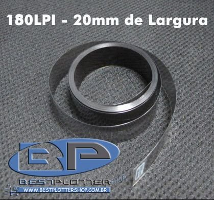 Fita Encoder 180LPI - 20mm de Largura