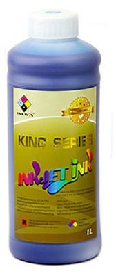 Tinta KING Solvente CYAN - 14 a 42PL