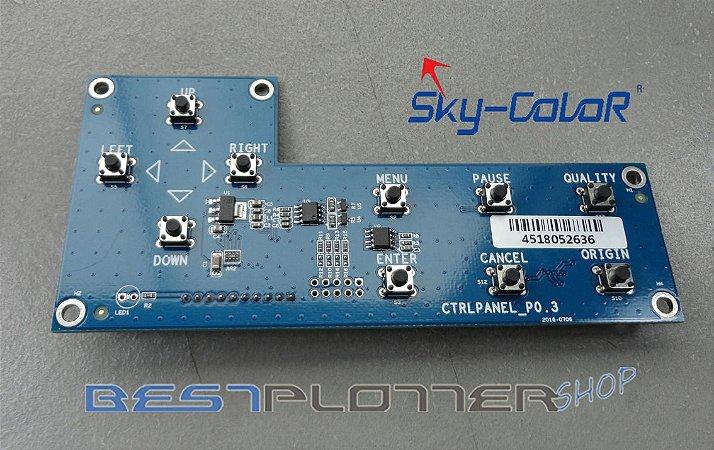 Placa do Painel com Botões SkyColor - 6160S