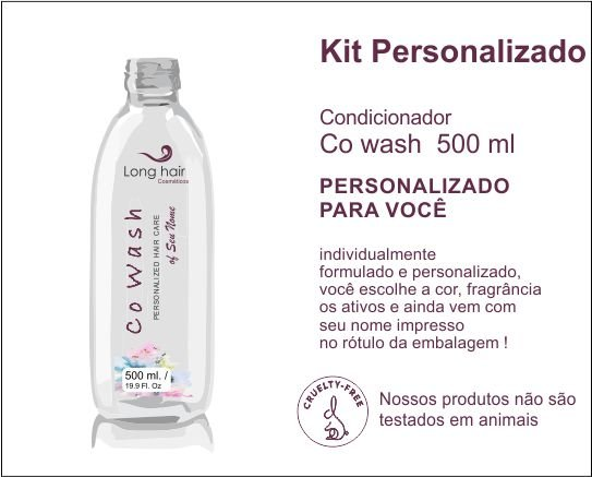CO WASH 500 ml Personalizado