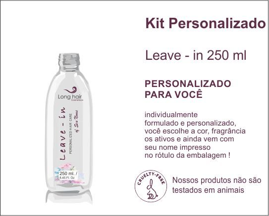 LEAVE - IN 250 ml Personalizado
