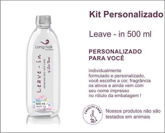 LEAVE - IN 500 ml Personalizado