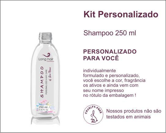 SHAMPOO 250 ml Personalizado