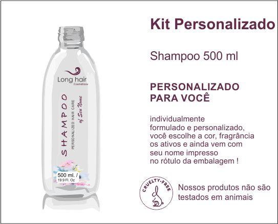 SHAMPOO 500 ml Personalizado