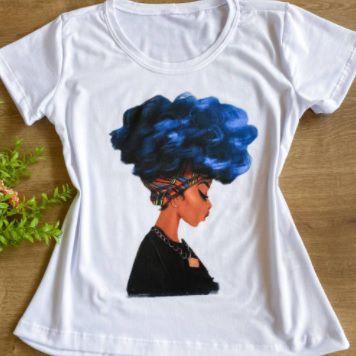 "T-shirt  ""Cabelo Azul"""