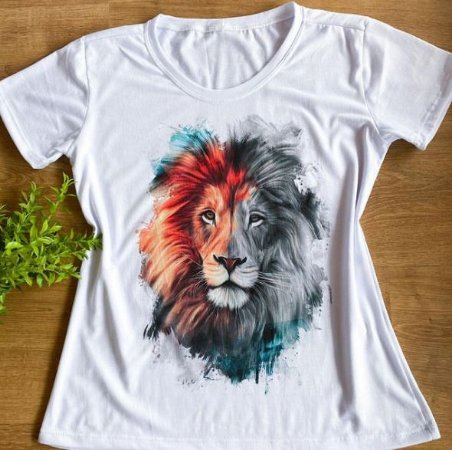 T-shirts Leão