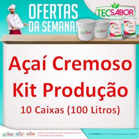 Promoção kit Açaí Cremoso