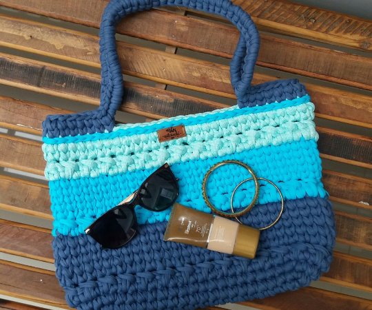Bolsa Bag em Crochê