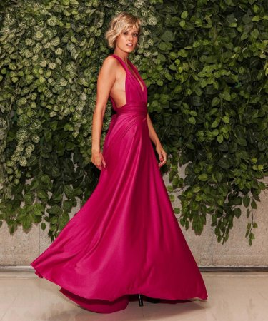 Vestido Longo Pink Versátil