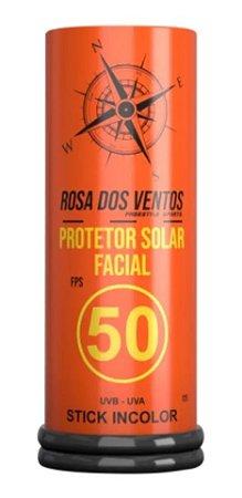PROTETOR SOLAR FACIAL STICK ROSA DOS VENTOS 50 FPS