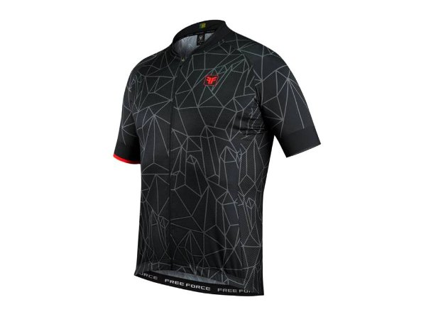 CAMISA CICLISMO FREE FORCE SPORT CHAOTIC
