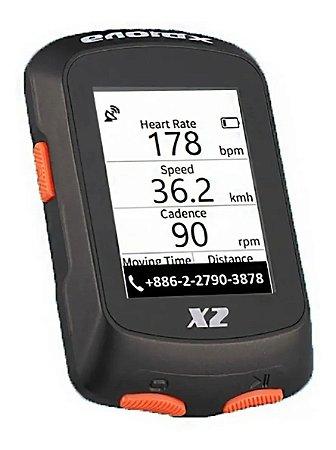 CICLO COMPUTADOR/GPS XPLOVA X2